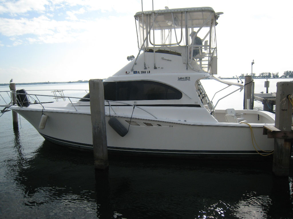 35' Luhrs Sportfish for sale