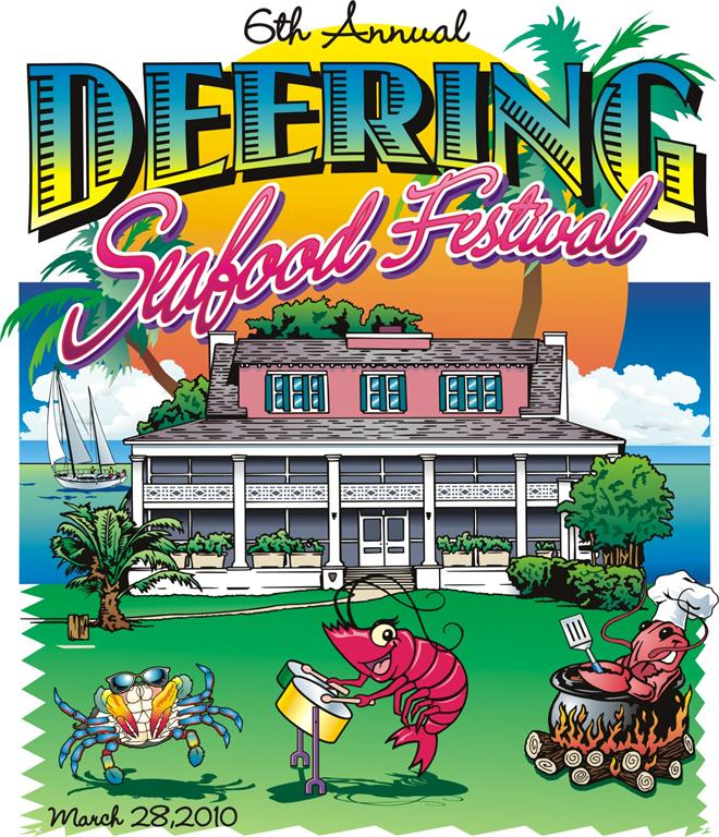 7th annual Deering Seafood Festival -- it's fish-a-licious good fun!
