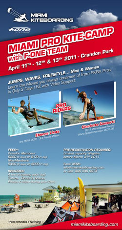 Miami Kiteboarding Masters & Kite Jump Camp