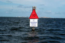 Anchoring Restrictions Proposed from MD to FL