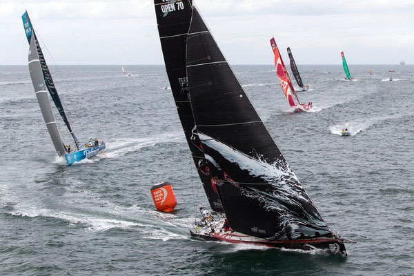 Volvo Ocean Race Heads Towards Miami on a Fast Reach