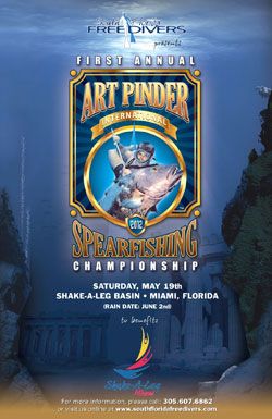 1st Annual Art Pinder International Spearfishing Championship