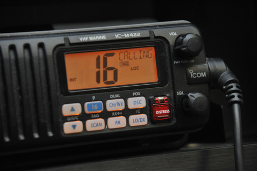 On the water and in distress? Use your VHF, not your cell