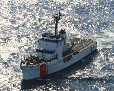 Coast Guard offloads approximately $14 million worth of cocaine