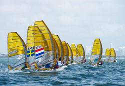 World's Top Board Sailors Clash in Miami
